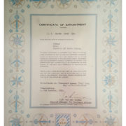 KLM-CERT-OF-APPOINTMENT