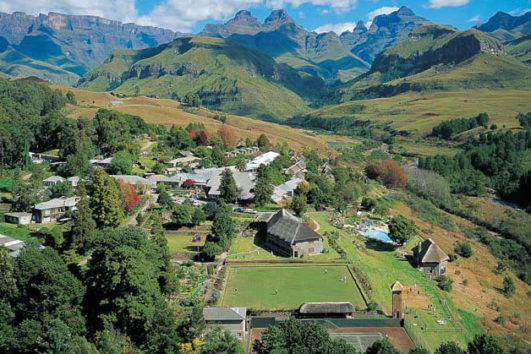 4 star  Cathedral Peak Hotel and 5 star  Fordoun Hotel and Spa Combo - KZN (4 Nights)